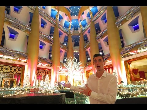 INSIDE WORLDS MOST EXPENSIVE HOTEL !!! Burj Al Arab !!!