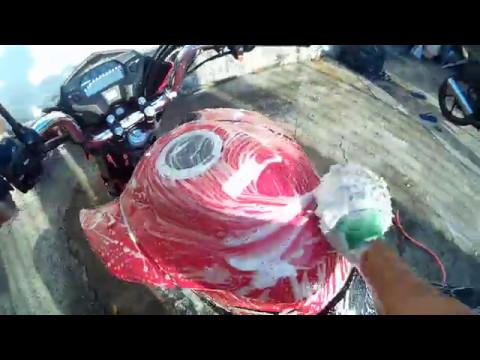 Honda cg 160 titan 2017 dia de limpeza da motoca