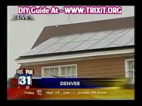 Solar Power – Home Made Working Solar Power Systems Save $$
