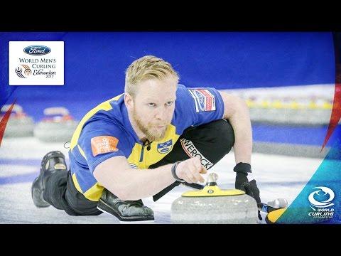 Sweden v Switzerland - Semi-final - Ford World Men's Curling Championship 2017