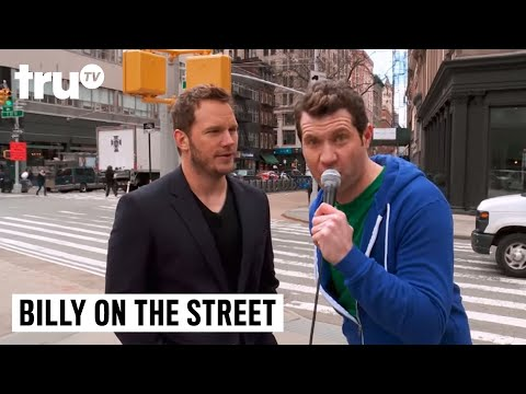 Billy on the Street Chris Pratt Lightning Round