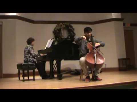 Justin Zhou plays Zigeunerweisen by Pablo de Sarasate