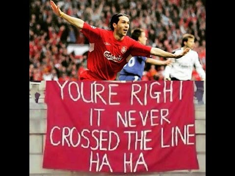 On This Day - Luis Garcia Scored Ghost Goal Vs Chelsea