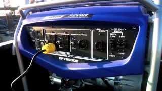 2. Yamaha Generator EF7200D/DE