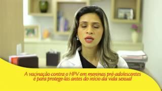 A importância de vacinar as meninas contra HPV