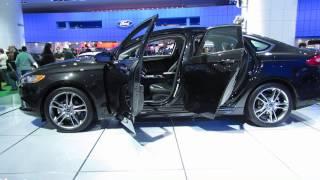 2013 Ford Fusion Titanium At NAIAS 2013 Detroit Auto Show