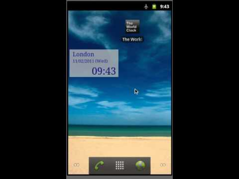 Video of The World Clock Free