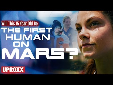 15yearold wants to be first on Mars