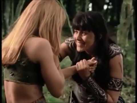 The best reunion on TV- Xena and Gabrielle