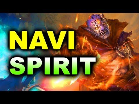 NAVI vs SPIRIT - SEMI-FINAL - ESL Birmingham MAJOR CIS DOTA 2