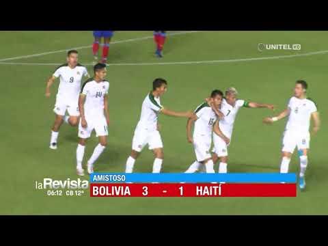Боливия - Гаити 3:1. Видеообзор матча 16.10.2019. Видео голов и опасных моментов игры