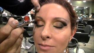 Cosmetic Airbrush Makeup and Contemporary Hairstyling for Special Occasions or Events