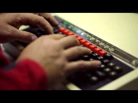Typing on a BBC Micro, ASMR no talking