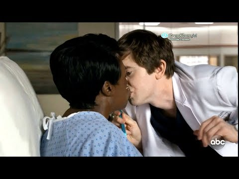 The Good Doctor 2x08 A Patient Kisses Shaun on the Lips
