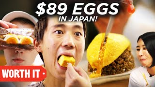 Video $1 Eggs Vs. $89 Eggs • Japan MP3, 3GP, MP4, WEBM, AVI, FLV Maret 2019