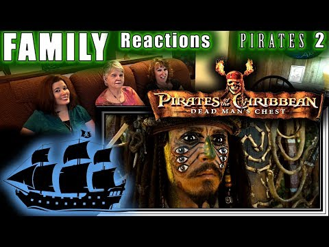 Pirates Of The Caribbean 2 | Dead Man's Chest | FAMILY Reactions | Fair Use