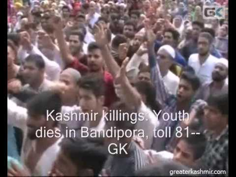 Kashmir killings: Youth dies in Bandipora, toll 81