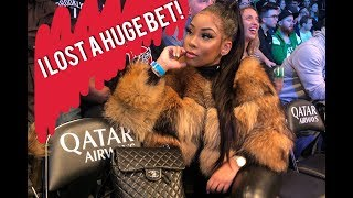 COURTSIDE AT A BASKETBALL GAME! I LOST A BET :(  | AALIYAH JAY by Ms Aaliyah Jay