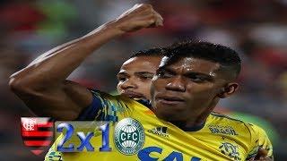 Curtam nossa página: http://www.facebook.com/LeandroSportsVideos Fla sai na frente, permite empate, mas vence Coxa com...