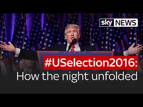 #USelection2016: How the night unfolded and Donald Trump won
