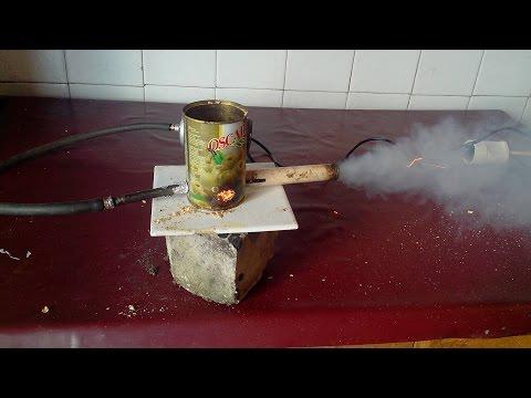 Дымогенератор своими руками из компрессора