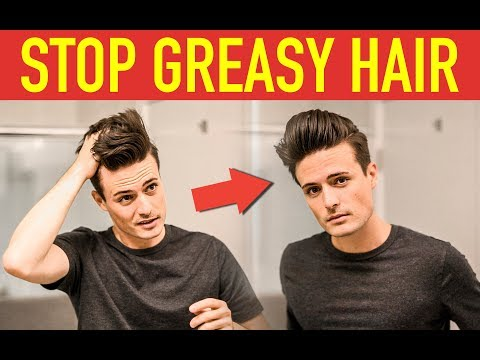 Mens hairstyles - STOP Greasy Hair! How to Style Second Day Hair  Mens Hairstyle Tips