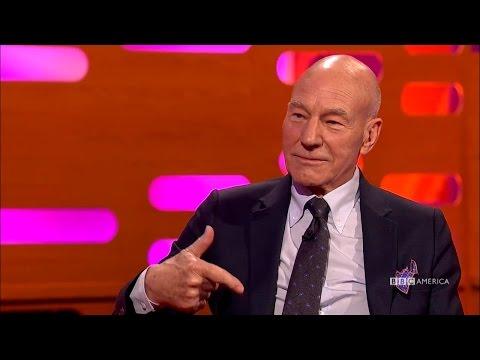 Hugh Jackman Learns About Patrick Stewart's Privates | The Graham Norton Show | Saturdays @ 11/10c