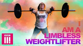 I Am A Limbless Weightlifter | Living Differently