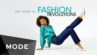 Throughout history, fashion and innovation have worked hand in hand. Microsoft celebrates the designs that defined each decade—from the artificial silks of 1910, to the zippers of the '30s, to stiletto heels of the '50s, and finally to 2016. So, what's making headlines this year in the world of fashion? Watch to find out. #sponsored    http://mode.com/mode-videoMicrosoft: https://www.microsoft.com/en-us/windows/Dresses 1910- 1960 Provided By: Cicely Hansen, owner of Decades of Fashion San Francisco. http://www.decadesoffashionsf.com415-551-16532016 Dress: Danit Peleg  http://danitpeleg.com/For more videos like this, visit us on MODE: http://www.mode.com/mode-video Follow us on Twitter: http://twitter.com/modestoriesFriend us on Facebook: https://www.facebook.com/modestoriesCheck us out on Instagram: http://instagram.com/modestoriesGet inspired on Pinterest: http://www.pinterest.com/modestoriesAdd us to your circle on Google+: http://bit.ly/glam-googleplus