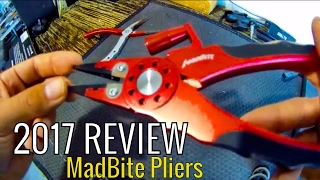 Fishing Gear 2017: *REVIEW* Kast King Madbite MadBright Fishing pliers!!