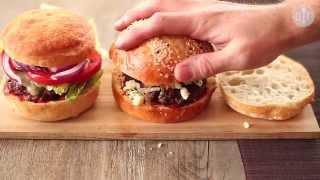 Przepis na hamburgery z wołowiny
