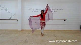 Danza del ventre online - Le origini del velo nella danza orientale!