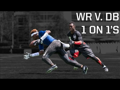 The Opening 2015: WR vs DB 1 on 1's (видео)