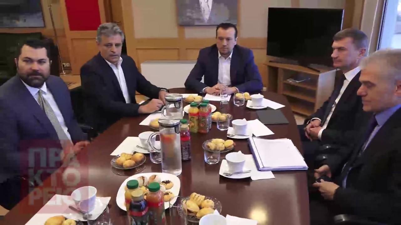 Επίσκεψη του Αντιπροέδρου της ΕΕ κ. Andrus Ansip