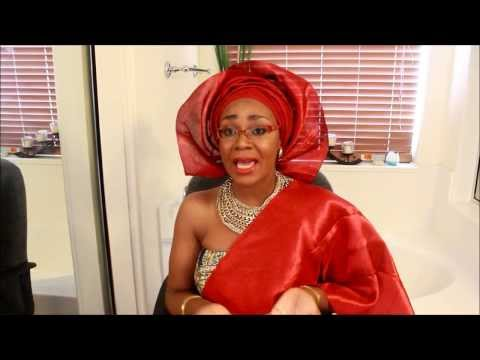 How To Tie Gele:  Bridal Style II