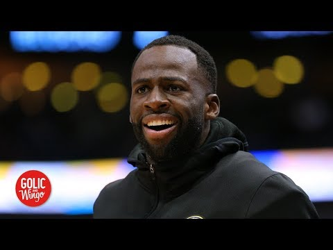 Video: Draymond laughs at 'disrespectful' Warriors detractors | Golic and Wingo