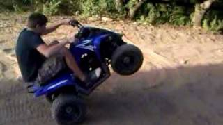 10. Raptor 90 wheelie