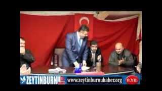 MHP Zeytinburnu Belediye Başkan Adayı Av Fethi Ahmet Alparslan İlçede Sloganlar Eşliğinde Karşılandı
