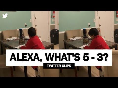 Alexa, paljonko on 5 miinus 3?