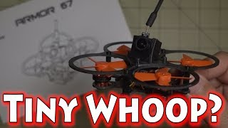 """It's been a while since I've flown the Tiny Whoop... with brushless micro drones like the Makerfire Armor 67 coming out, the Tiny Whoop seems less fun every day.  Makerfire seems to do a good job with taking the good stuff from all the other designs out there and putting together a nice package. This one flew great on stock Betaflight PIDs. It also came with the latest version 3.1.7 so no flashing was needed. I just bound to my transmitter and put in my modes for switch arming and flew it!🚩Makerfire Armor 67 Micro Drone - http://goo.gl/dhtxkW💰Use coupon code """"Makerfire67"""" to get it for $115.99!🔋Recommended Lipo🔋 - http://goo.gl/HTpqUN►► Coupon Code MICROFPV for 10% OFF!►► GearBest US Store - http://goo.gl/CslZGQ►► Gearbest SUMMER SALE!        ►http://www.gearbest.com/m-promotion-active-322.html          ►http://us.gearbest.com/m-promotion-active-334.html▼ RC GearTurnigy Evolution - http://goo.gl/xp5AGqFrSky Taranis X9D Plus SE - http://goo.gl/N4PxtRFatshark Dominator V3 Goggles - http://goo.gl/ixDi1w▼ Camera GearSony RX100 Mark V - http://goo.gl/yaQvftGoPro Hero Session 5 - http://goo.gl/4PA6BnHawkeye Firefly 7S - http://goo.gl/v2NGCQRunCam 3 - http://goo.gl/SU0gtSRunCam2 - http://goo.gl/QS3pzuXiaomi Yi Action Camera - http://goo.gl/u30TkKMobius Mini - http://goo.gl/L2oNNuSamsung Galaxy Note 5 - http://goo.gl/1uOSFg▼ My Video DronesDJI Mavic Pro - http://goo.gl/ecxdZQYuneec Breeze 4K Selfie Drone - http://goo.gl/3YhDwYHubsan H109S X4 Pro - http://goo.gl/FL4jssWhat I use to edit my videos - http://amzn.to/1VJHWp7SUBSCRIBE TO MY CHANNEL - http://goo.gl/b1cZZM"""