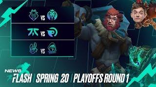 "Playoffs ""MADness""? | #LEC Newsflash Playoffs Round 1 by League of Legends Esports"