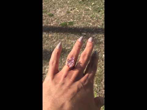 Brazilian Amethyst Rings 10$