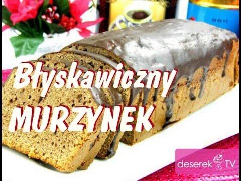 Ciasto Murzynek Błyskawiczny przepis od Deserek.TV