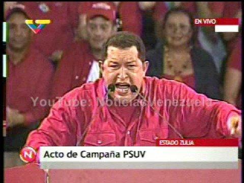 Chávez arremete con todo contra Rosales