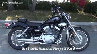 3. Used 2005 Yamaha Virago 250 motorcycle for sale in New Port Richey Fl