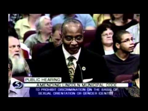 Lincoln LGBT Protection Ordinance Hearing 5/7/2012 Video