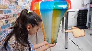 Video Transformation from Colorful Slime Waterfall to Perfect Slime Soup !! MP3, 3GP, MP4, WEBM, AVI, FLV November 2017