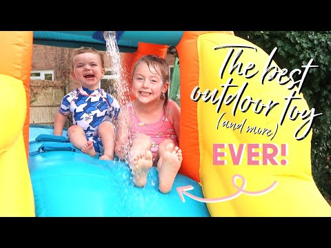 THE BEST OUTDOOR TOY EVER! WITH ARGOS AND CHAD VALLEY | AD