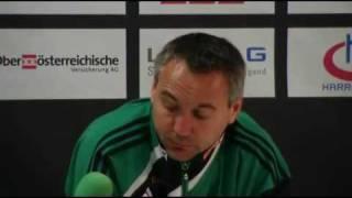 Peter Pacult im Interview nach der 4:2-Niederlage gegen den LASK