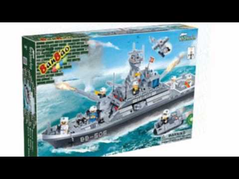 Video YouTube video ad for the Frigate Battleship Toy Building Set